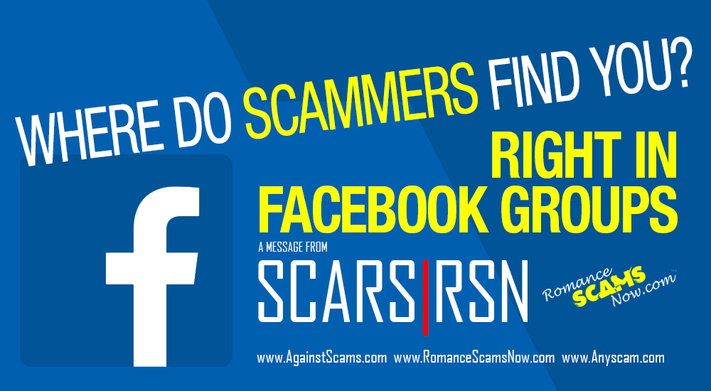 Where Do Scammers Find You? - SCARS|RSN™ Insight 1
