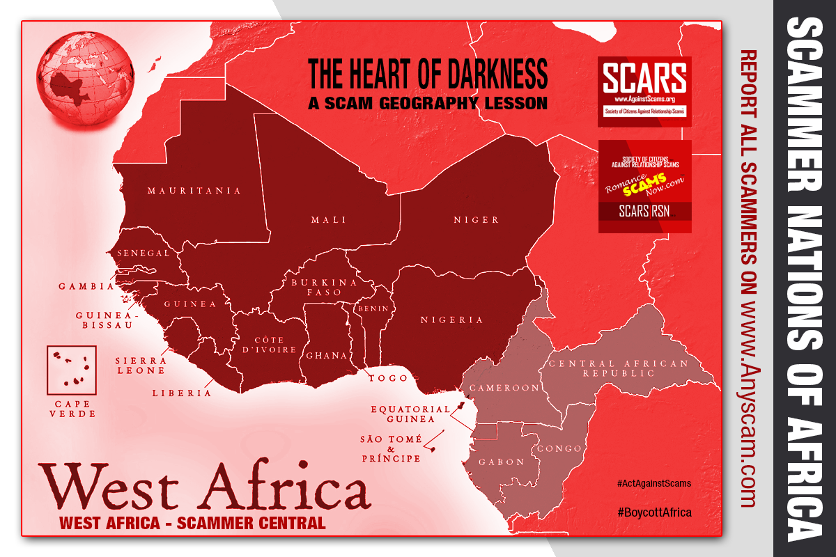The Heart Of Darkness - A Scam Geography Lesson - SCARS|RSN™ Insight 3