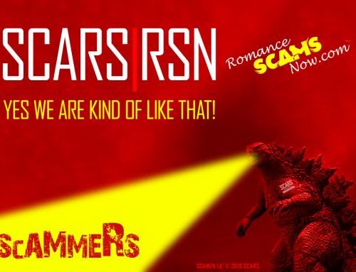 Scamzilla – SCARS|RSN™ Anti-Scam Poster