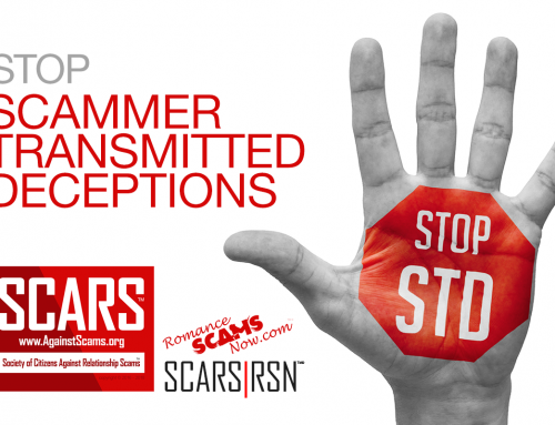 Stop STDs – SCARS|RSN™ Anti-Scam Poster