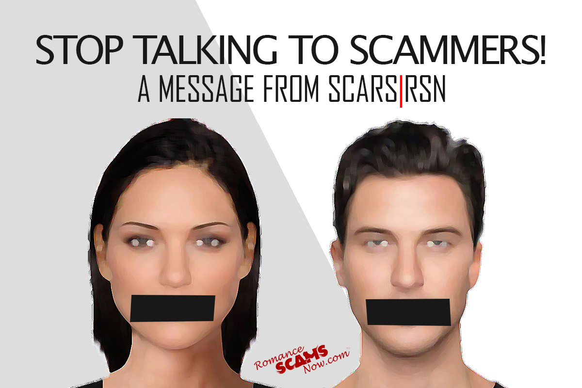 Stop Talking To Scammers - SCARS|RSN™ Anti-Scam Poster 21