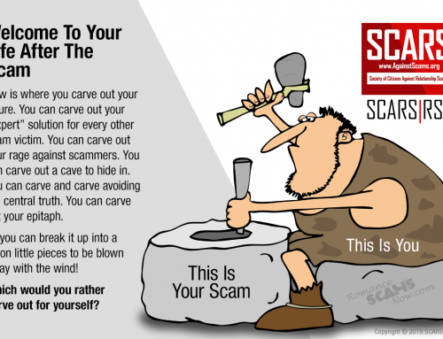 This Is You Making Your Future – SCARS|RSN™ Anti-Scam Poster
