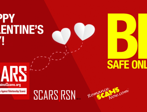 """[Video] This Valentine's Day May You Find a Real Relationship, Not an Online """"Romance Scam"""" – SCARS