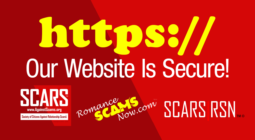 Our Website Is Secure - SCARS|RSN™ 1