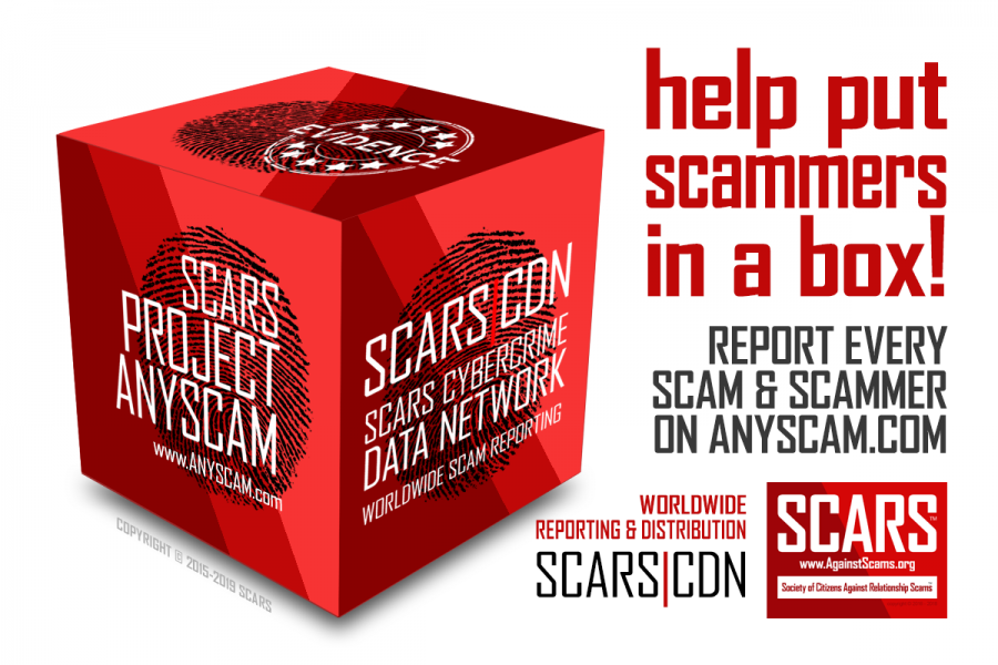 Reporting Scams Is Everyone's Duty - SCARS™ Editorial 2