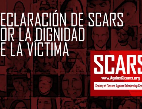 Declaración De SCARS Por La Dignidad De La Víctima