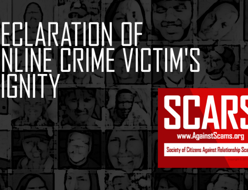 SCARS Declaration For Victim's Dignity