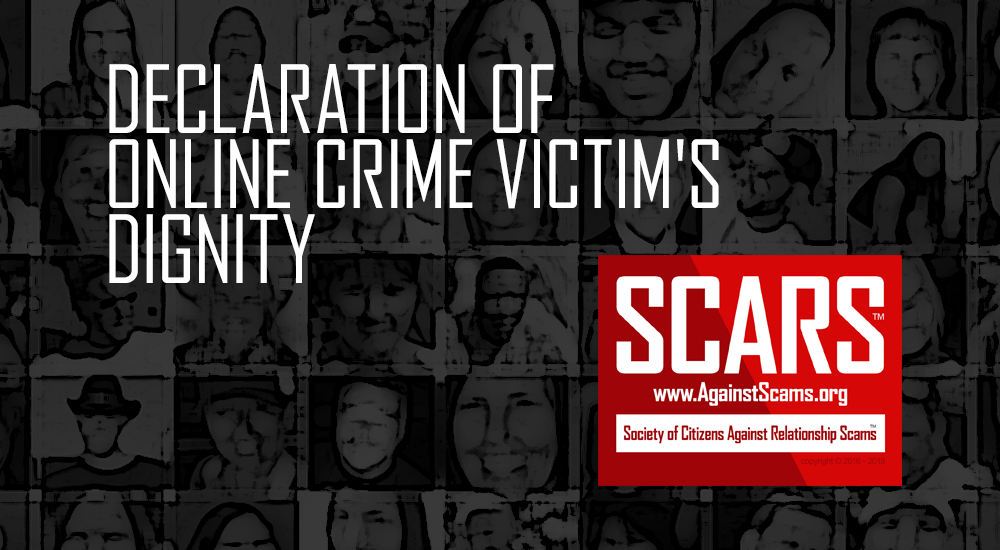 SCARS Declaration For Victim's Dignity 7