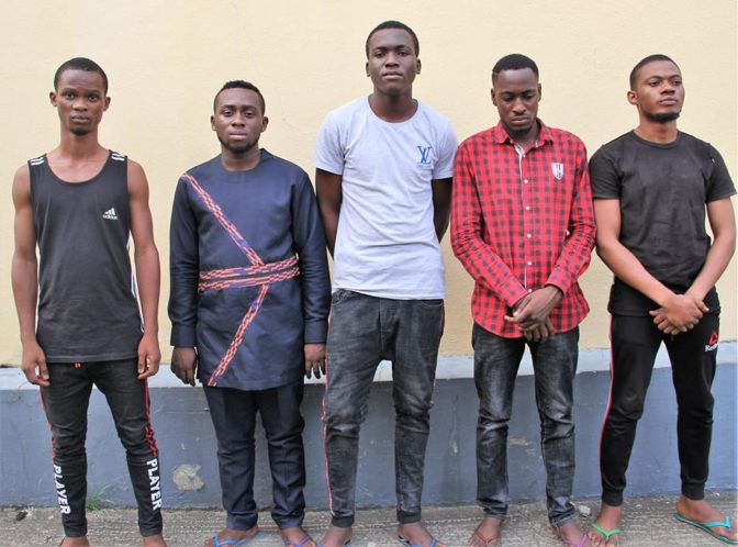 N31 Million (US$85,000) Recovered From Five Yahoo Boys After Arrest [Photo] - SCARS™ SCAM NEWS 1