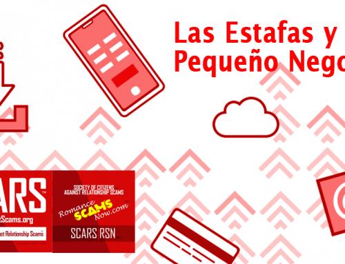 Las Estafas y Su Pequeño Negocio – Información de SCARS|RSN™