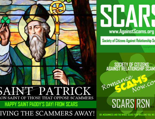 Happy Saint Patrick's Day – SCARS|RSN™ Anti-Scam Poster