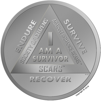 SCARS Survival Medal - Copyright © 2015-2019 SCARS