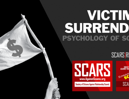 Scam Victim Surrender – SCARS|RSN™ Psychology of Scams