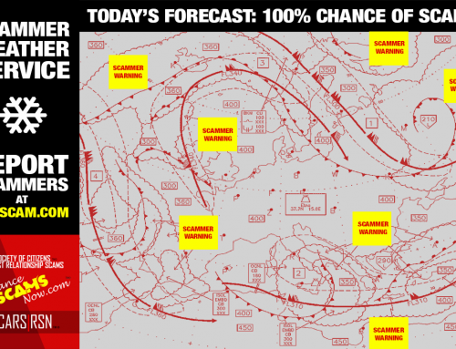 Scam Forecast – SCARS|RSN™ Anti-Scam Poster