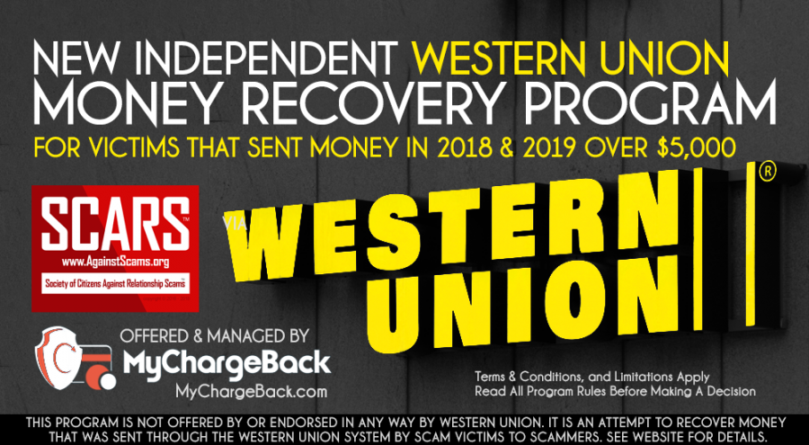 New Western Union Money Recovery Program Approved By SCARS