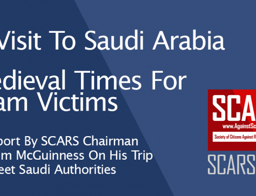 SCARS Advocacy – Meeting With Saudi Arabian Police