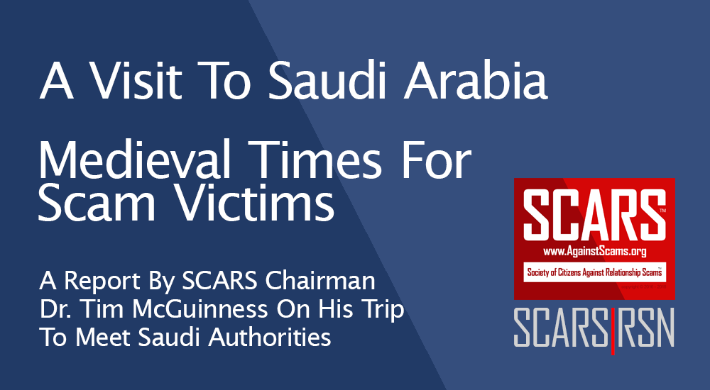SCARS Advocacy - Meeting With Saudi Arabian Police 1