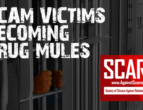 Another Senior Faces Jail As A Scammer Drug Mule – SCARS™ SCAM NEWS