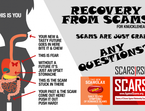 Scams Are Just Crap – SCARS|RSN™ Anti-Scam Poster