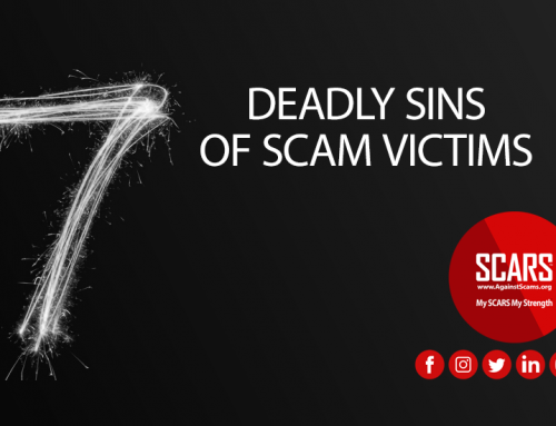 Victim's 7 Deadly Sins – SCARS|RSN™ Scam Recovery