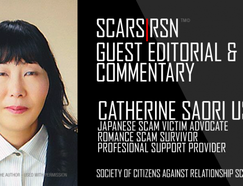 Japan – The Romance Scammer's Heaven – A SCARS|RSN™ Guest Editorial By Catherine Saori Usui