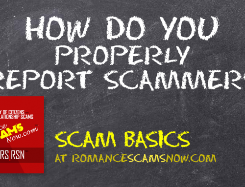 SCARS|RSN™ Scam Basics: How Do You Properly Report Scammers?