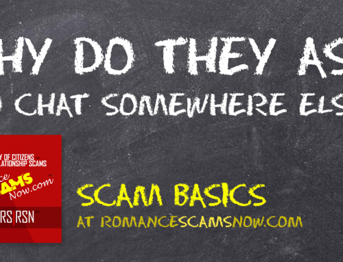 Why Do Scammers Always Ask You To Chat Somewhere Else? – SCARS|RSN™ Scam Basics