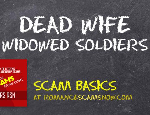 SCARS|RSN™ Scam Basics: Dead Wife