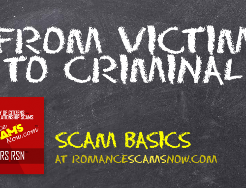 SCARS|RSN™ Scam Basics: From Victim To Criminal