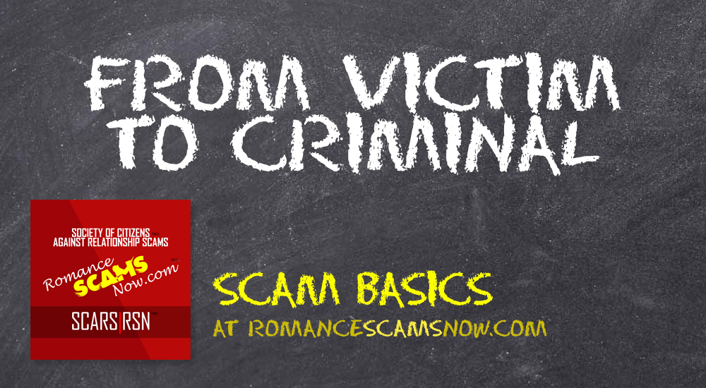 SCARS|RSN™ Scam Basics: From Victim To Criminal 8