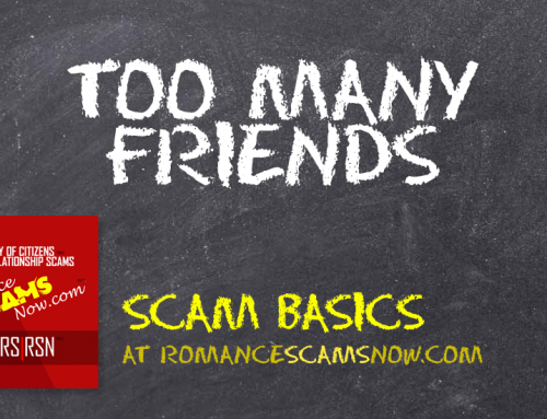 SCARS|RSN™ Scam Basics: Too Many Friends