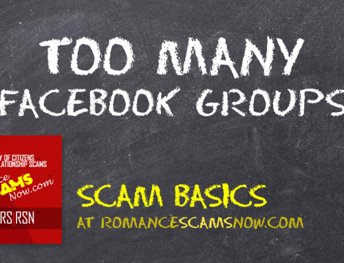SCARS|RSN™ Scam Basics: Too Many Facebook Groups