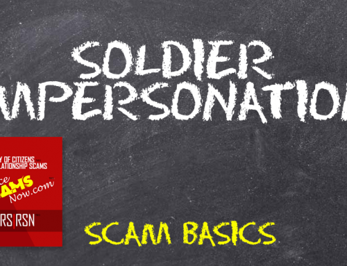 Soldier Impersonation – SCARS RSN™ Scam Basics