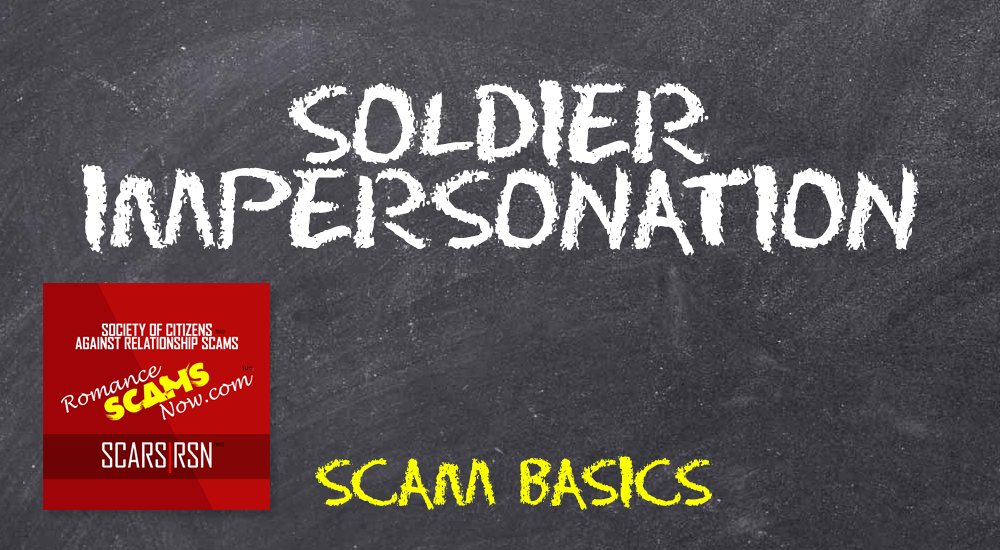 Soldier Impersonation - SCARS|RSN™ Scam Basics 1