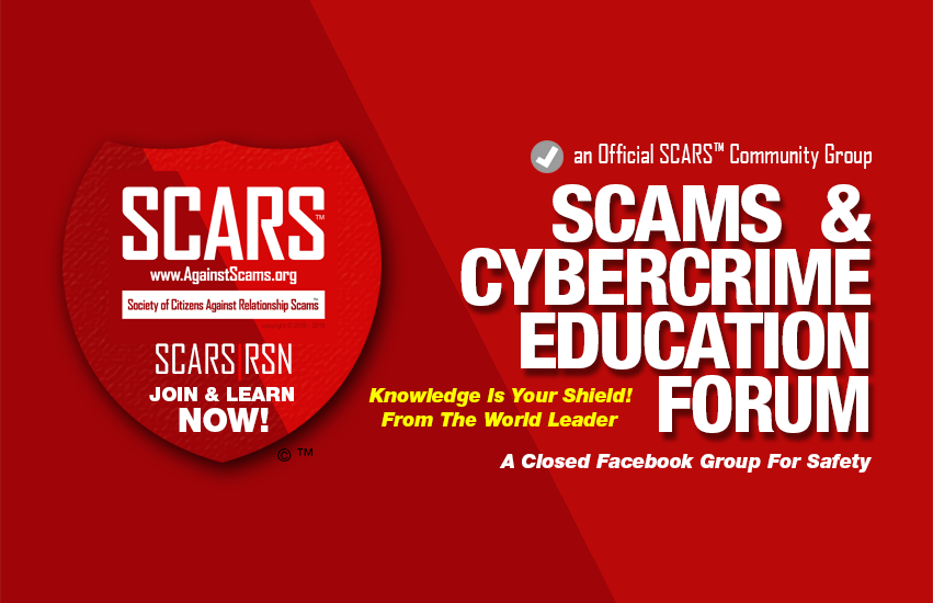 SCARS™ Scam Avoidance & Information Educational Group on Facebook