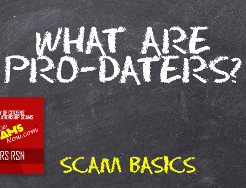Pro-Daters – SCARS|RSN™ Scam Basics