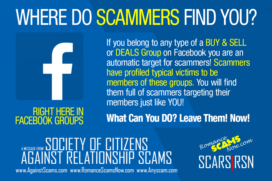 SCARS|RSN™ Scam Basics: Too Many Facebook Groups 2