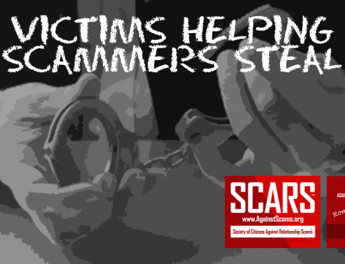 SCARS RSN™ SCAM NEWS: Japanese Woman Age 66 Victimized In 'International Romance Fraud' Of ¥100 million (US$896,260)