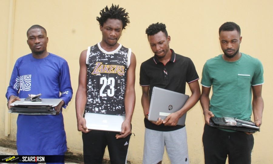 SCARS|RSN™ Scam & Scamming News: EFCC Arrests More 'Yahoo Boys' In Lagos Nigeria 1