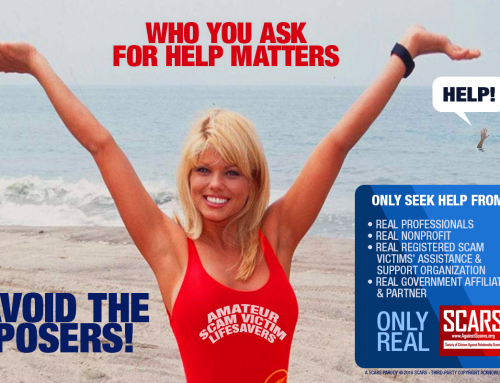 Avoid The Posers – SCARS|RSN™ Anti-Scam Poster