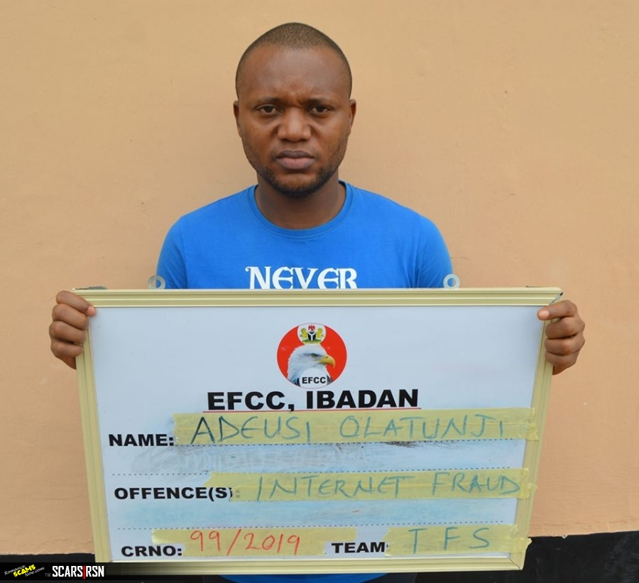 SCARS|RSN™ SCAM NEWS: Degreed Criminologist Jailed for Internet Fraud In Nigeria 1