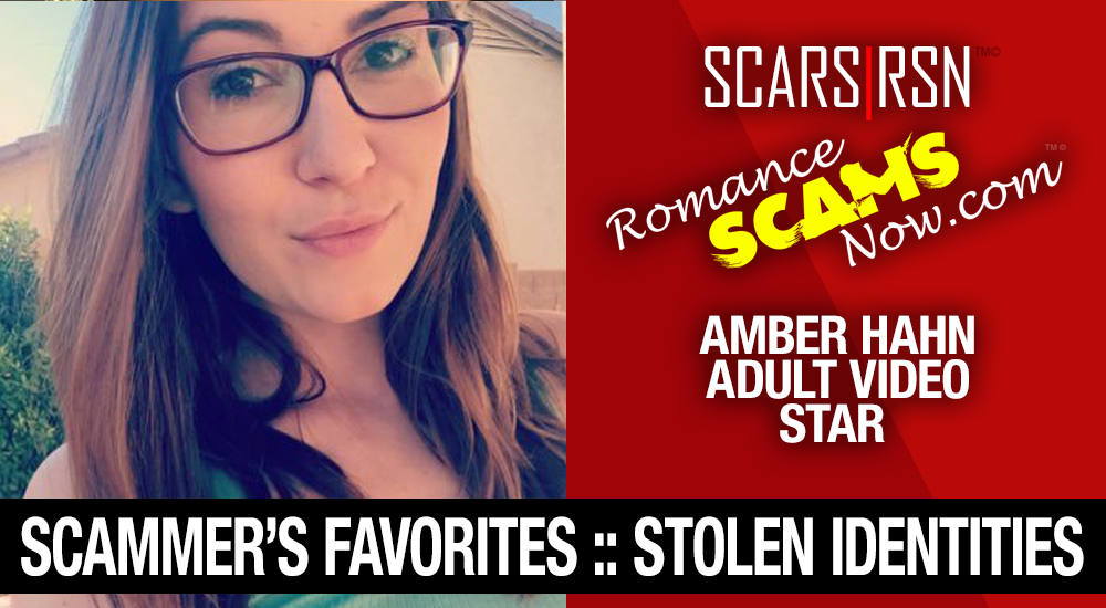 Amber Hahn: Have You Seen Her? Another Stolen Face / Stolen Identity 1