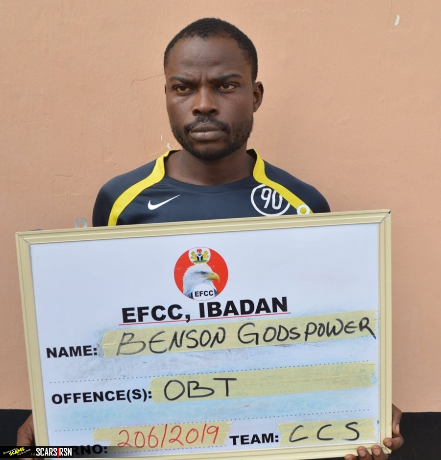 SCARS|RSN™ Scam & Scamming News: Nigerian Lotto Scammer Arrested 1