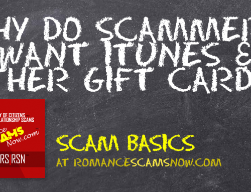 SCARS|RSN™ Scam Basics: What's Up With Gift Cards?