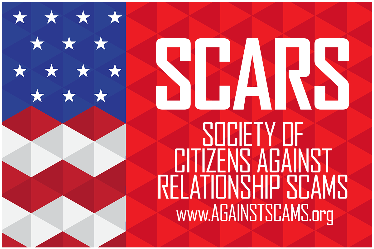 Society of Citizens Against Relationship Scams Incorporated [SCARS] - SCARS|RSN™ Anti-Scam Poster 9