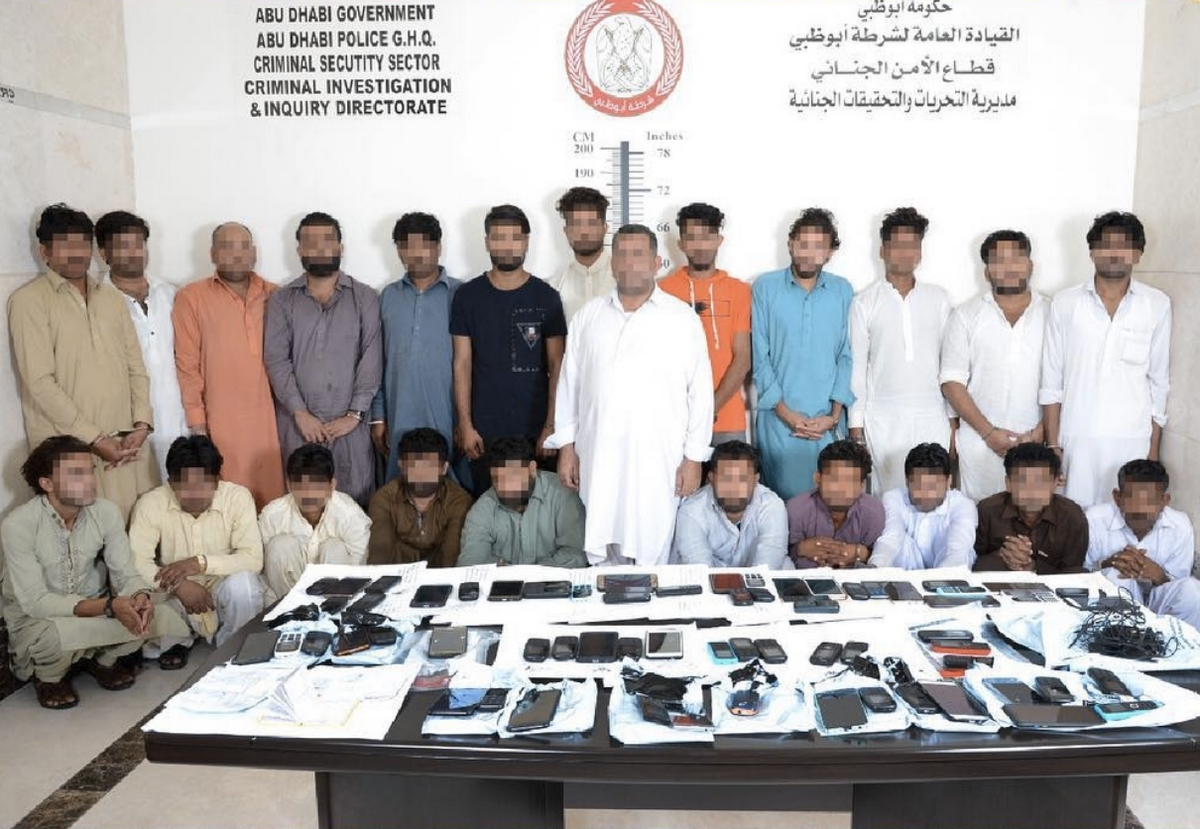 24-member phone scam gang arrested in UAE
