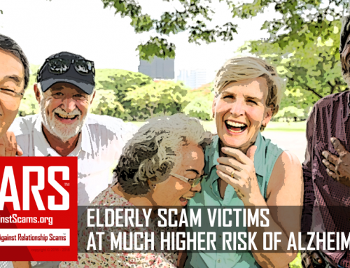 SCARS|EDUCATION™ Special Report: According To New Science Financial Scam Victims Have Higher Risk Of Alzheimer's