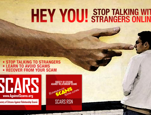 Hey You – SCARS|RSN™ Anti-Scam Poster