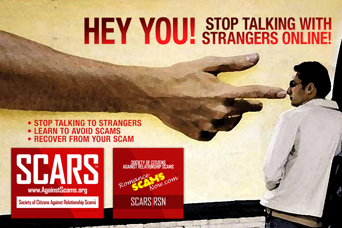 Hey You - SCARS|RSN™ Anti-Scam Poster 15