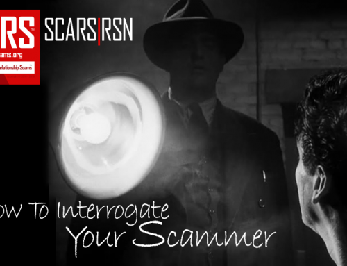 SCARS|RSN™ Guide: How To Interrogate Someone You Suspect Of Being A Scammer